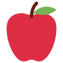 Red Apple Fruit Icon