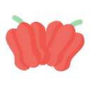 Red Pepper Vegetable Healthy Icon