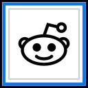 Reddit Social Media Icon