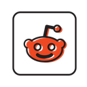 Reddit Social Media Network Icon