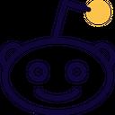 Reddit Social Logo Social Media Icon