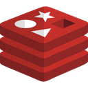 Redis Technology Logo Social Media Logo Icon