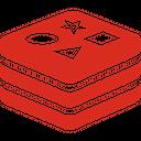 Redis Plain Icon