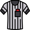 Referee T Shirt Icon