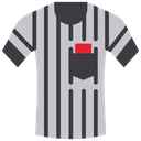 Referee T-Shirt Icon