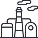 Refinery Oil Refinery Petroleum Icon