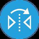 Reflect Tool Transform Icon