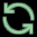 Refresh Syncronize Rotate Icon