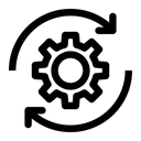 Setting Rotate Configure Icon