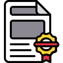 Registered document Icon