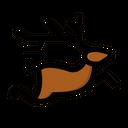 Reindeer Animal Deer Icon