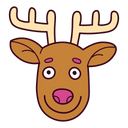 Reindeer Animal Deer Icon