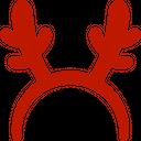 Reindeer antlers Icon