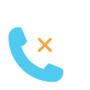 Reject Call Abort Call Phone Icon