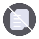 Rejected document Icon