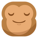 Release Relieved Monkey Icon
