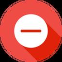 Remove Minus Subtract Icon
