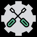 Screwdriver Maintenance Setting Icon