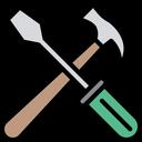 Hammer Screw Driver Hammer Screwdriver Icon