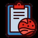 Report Analysis Planet Icon
