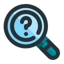 Research Search Analysis Icon