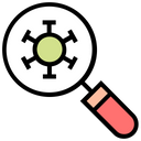 Research Virus Icon