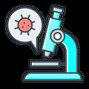 Research Biology Corona Virus Icon