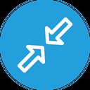 Resize Minimum Arrow Icon