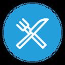 Restaurant Knife Fork Icon