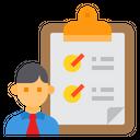 Resume Portfolio Clipboard Icon