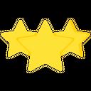 Review Stars Three Starts Icon