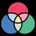 Rgb Color Model Color Structure Icon