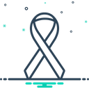 Ribbon Cancer Or Other Cancer Icon