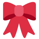 Ribbon Celebration Decoration Icon