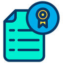 Ribbon Document Icon