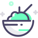 Rice Bowl Food Icon