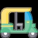 Ricksaw Rickshaw Auto Rickshaw Icon