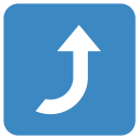 Right Arrow Curving Icon