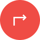 Right turn Icon