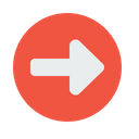 Right Turn Indication Icon