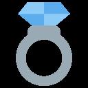 Ring Ceremoney Diamond Icon