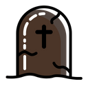 Rip Gravestone Tombstone Icon