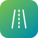 Road Direction Path Icon