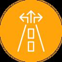 Road Map Navigation Icon