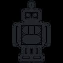 Robot Machine Antenna Icon
