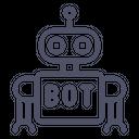 Robot Bot Customer Icon