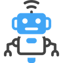 Robot Assistant Artificial Intelligence Help Icon