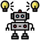 Automation Machinery Factoryindustry Icon