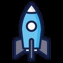 Rocket Space Science Icon
