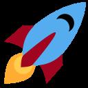 Rocket Space Galaxy Icon